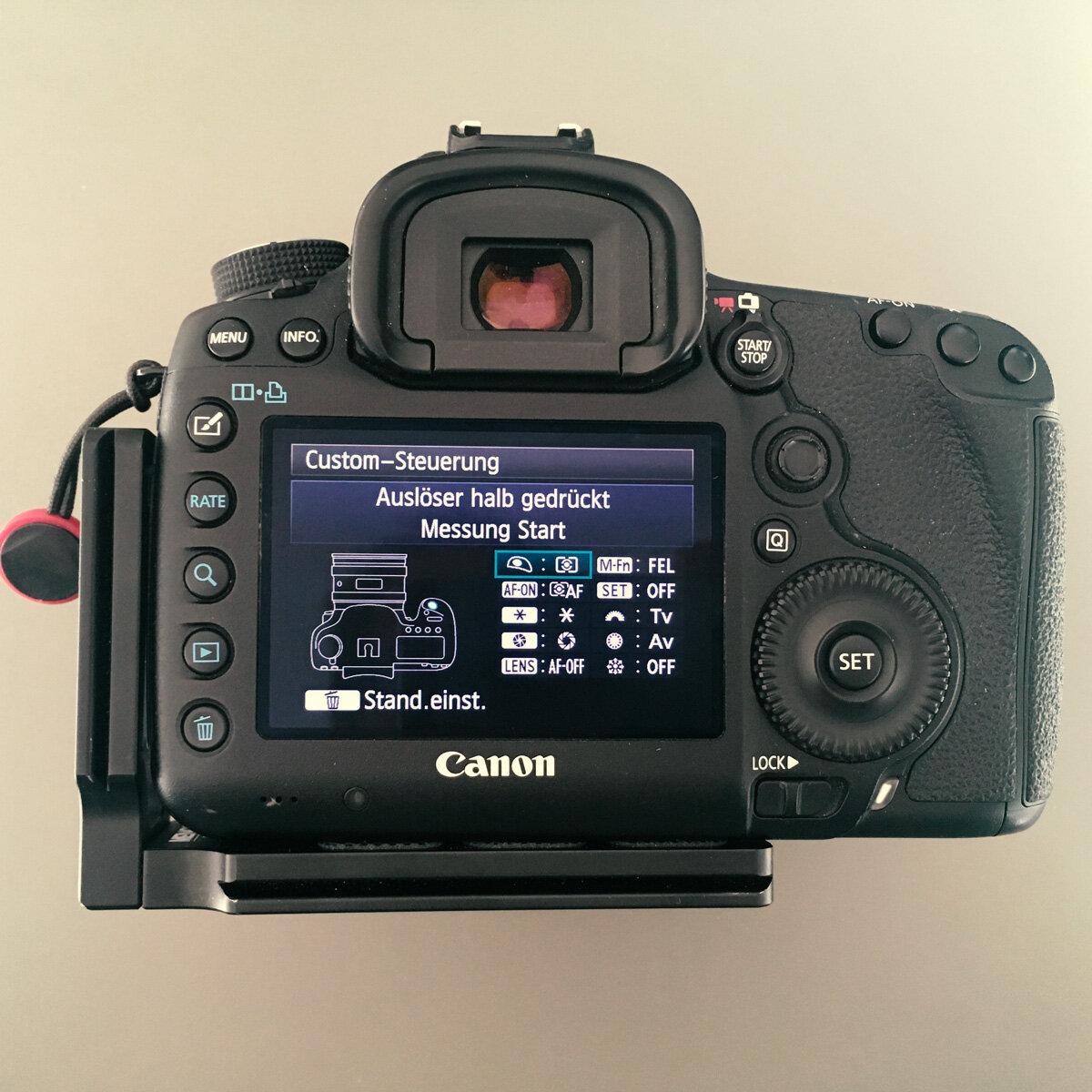Canon 5D Mark III – Back Button Autofokus Problem