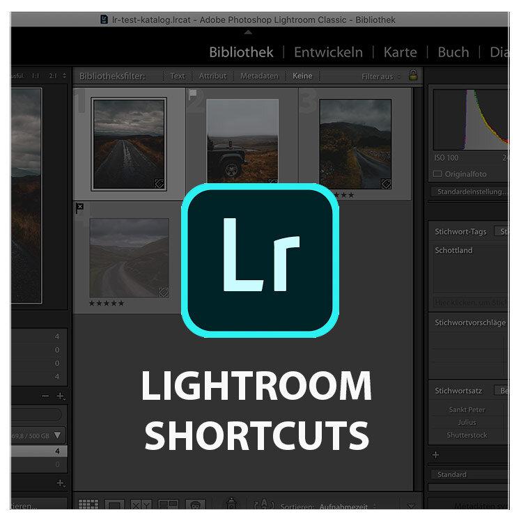Lightroom Shortcuts – diese Tastaturbefehle nutze ich ständig
